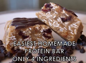 easiest protein bar recipe