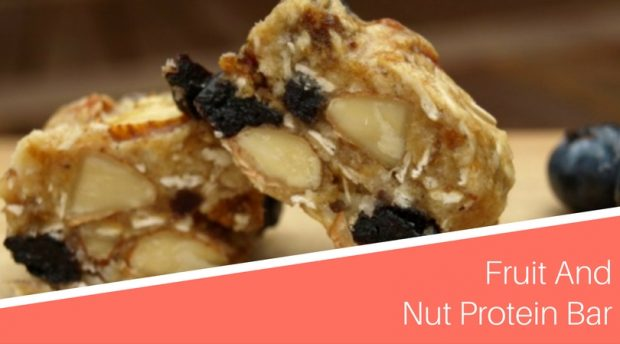 Fruit and Nut Protein Bar