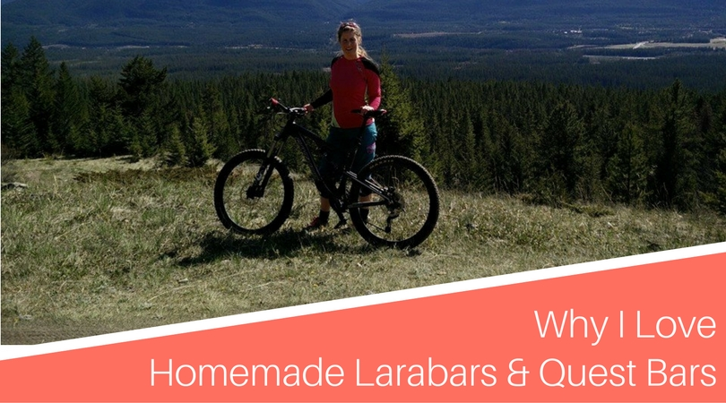 Why I Love Homemade Larabars & Quest Bars