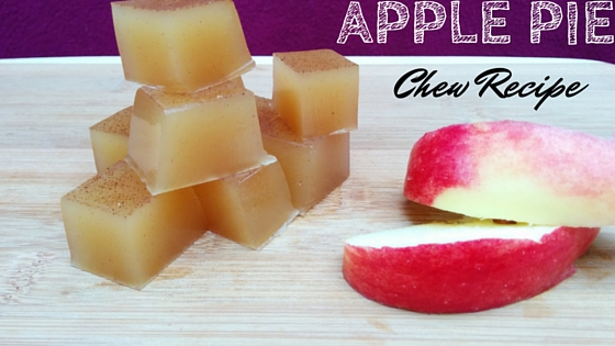 Apple pie energy chew recipe