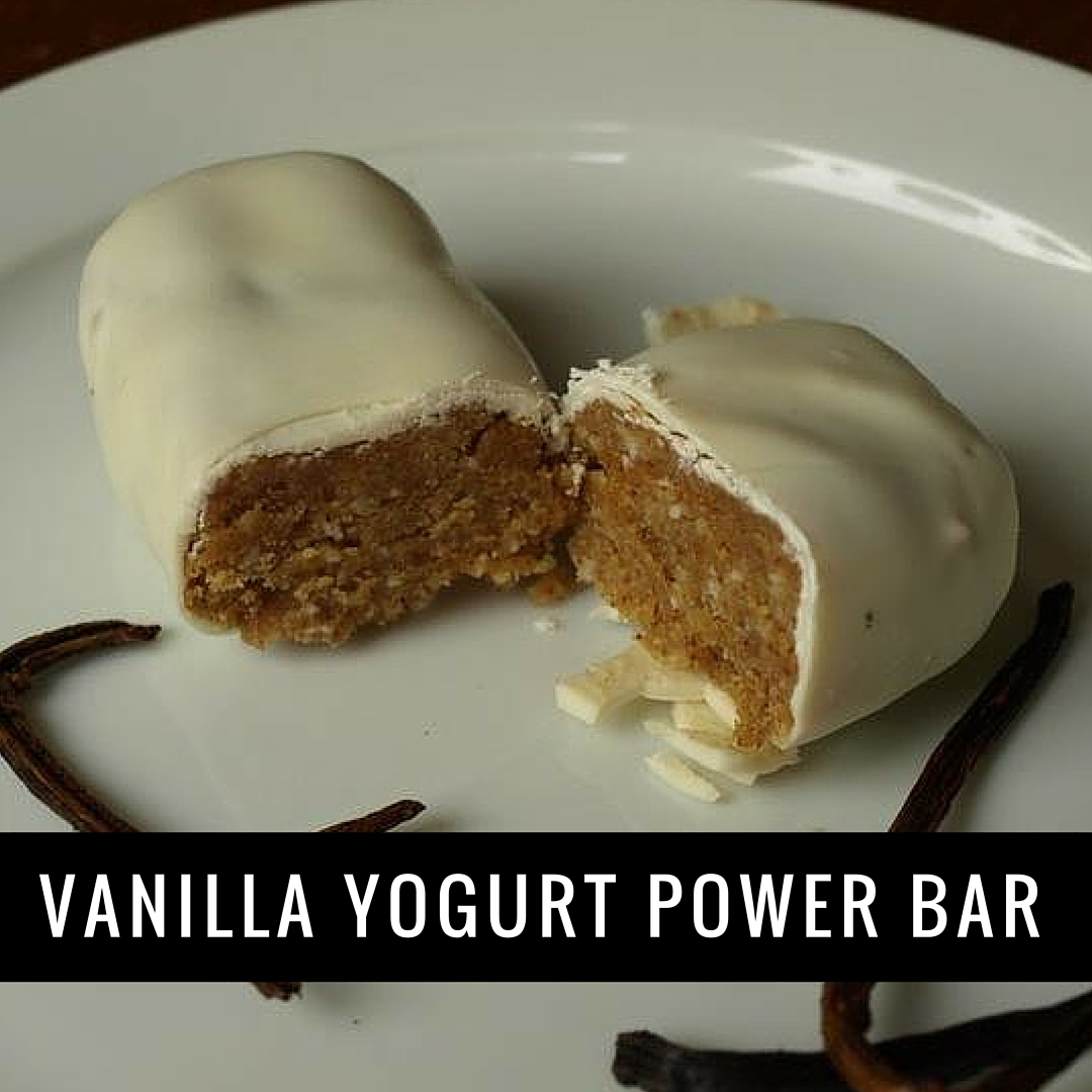 vanilla full fat yogurt power bar