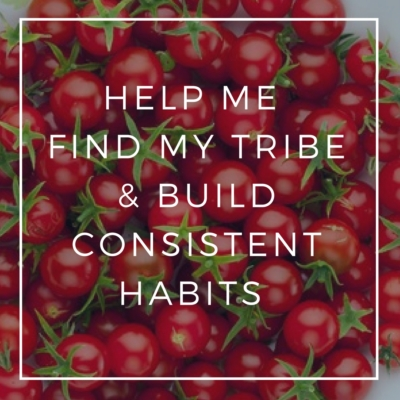 Help Me Find My Tribe & Build Consistent Habits