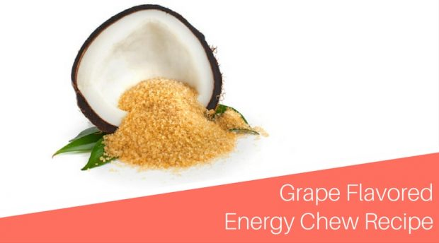 Grape Flavored Energy Chew Recipe
