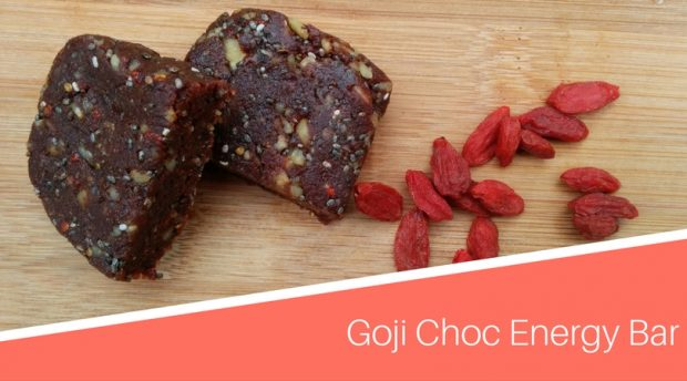 Goji Choc Energy Bar
