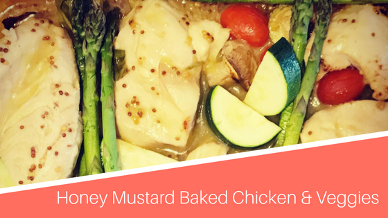 Honey mustard baked chicken health coach australia real energy food the thing i love about this recipe is i only have to clean one pan woohoo forumfinder Images